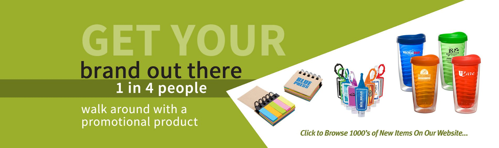 Browse our Promotional Items